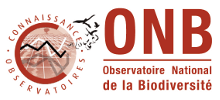 Logo Observatoire National de la Biodiversité